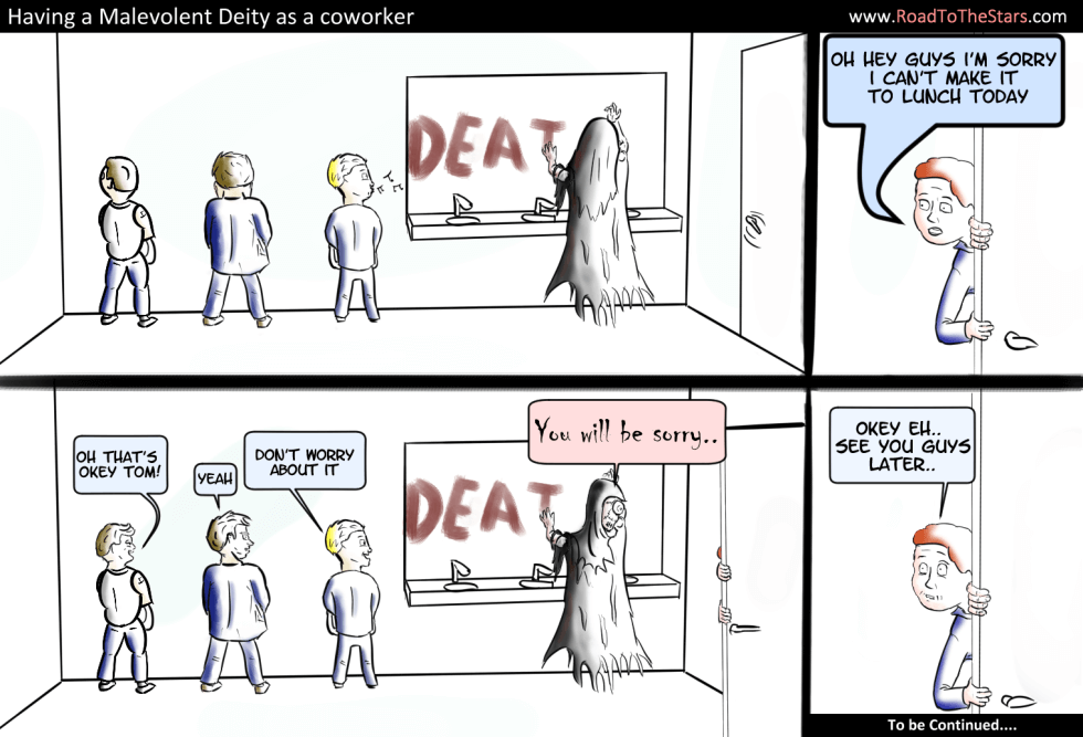 Malevolent Deity Coworker