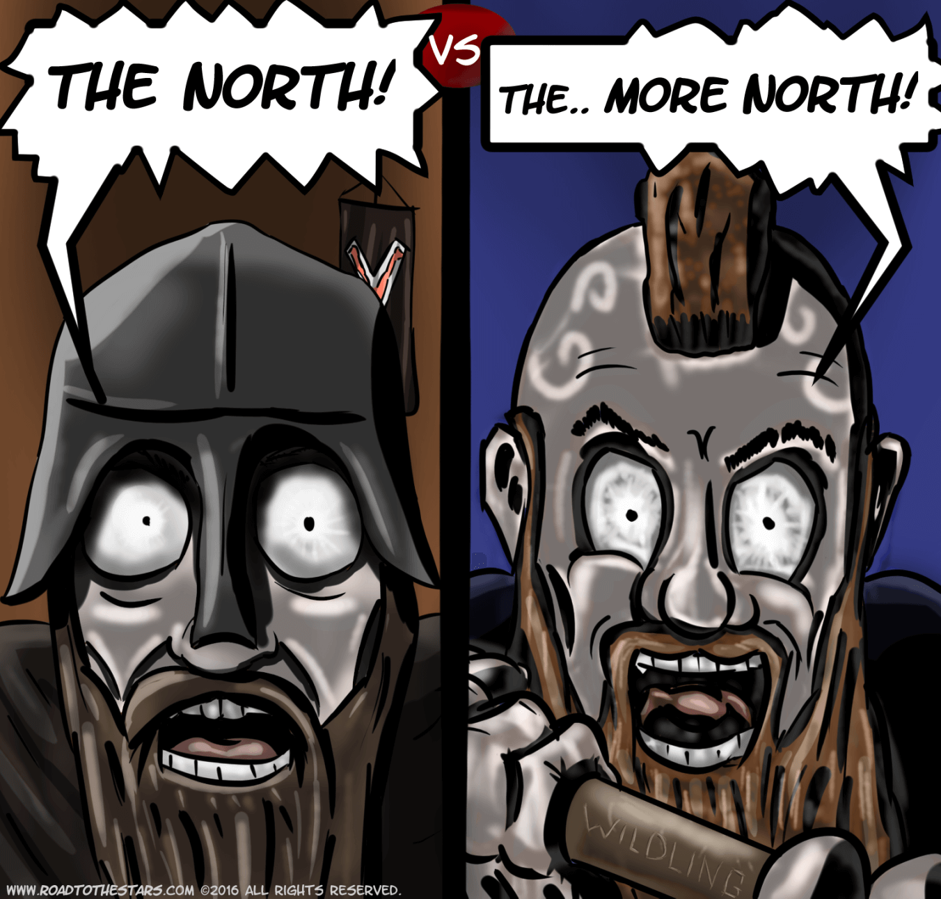 (SPOILER GAME OF THRONES) The North belongs to the North